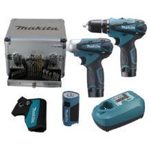 Акумулаторен винтоверт комплект MAKITA LCT303X