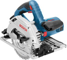 Ръчен циркуляр Bosch GKS 55+ GCE + FSN 1600  Professional