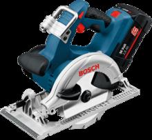 Акумулаторен циркуляр Bosch GKS 36 V-LI Professional