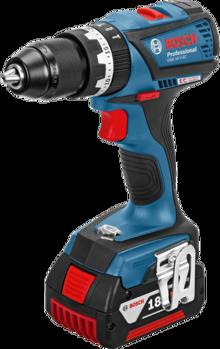 Акумулаторен ударен винтоверт Bosch GSB 18 V-EC Professional