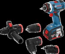 Акумулаторен винтоверт Bosch GSR 18 V-EC FC2 SET Professional