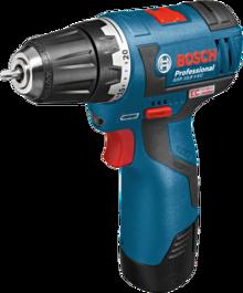 Акумулаторен винтоверт Bosch GSR 10,8 V-EC Professional