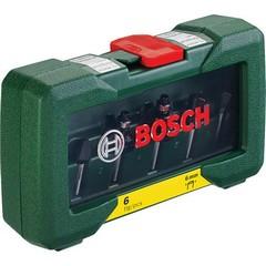 Комплект фрезери Bosch, 6 части, Ф6мм опашка
