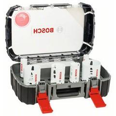 Универсален комплект боркорони Bosch Progressor, 8 части