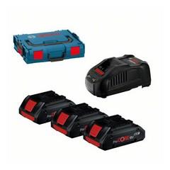 Батерии Bosch PRO CORE18V 4Ah SET, 3 броя