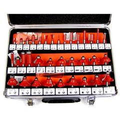 Комплект фрезери BLAUKRAFT, 35 броя Ф8мм